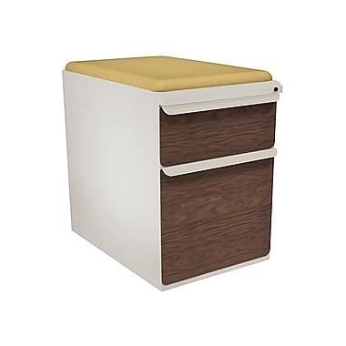 Marvel Zapf 2 Drawer Mobile/Pedestal File, Cherry,Letter/Legal, 15''W (762805004460)
