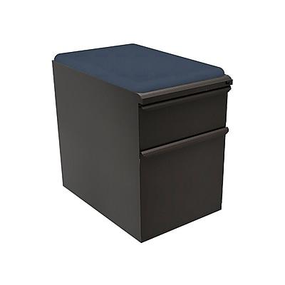 Marvel Zapf 1 Drawer Mobile/Pedestal File, Charcoal,Letter/Legal, 15''W (762805004514)