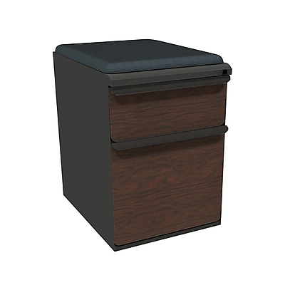 Marvel Zapf 1 Drawer Mobile/Pedestal File, Mahogany,Letter/Legal, 15''W (762805004552)