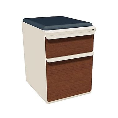 Marvel Zapf 2 Drawer Mobile/Pedestal File, Cherry,Letter/Legal, 15''W (762805004576)