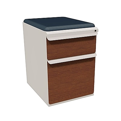 Marvel Zapf 2 Drawer Mobile/Pedestal File, Cherry,Letter/Legal, 15''W (762805004606)