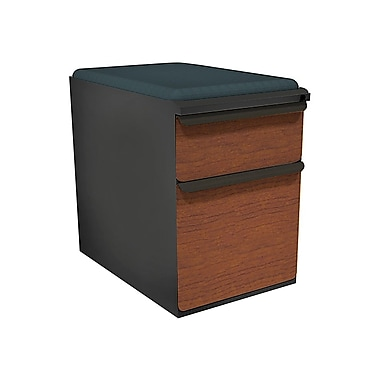 Marvel Zapf 2 Drawer Mobile/Pedestal File, Cherry,Letter/Legal, 15''W (762805004637)