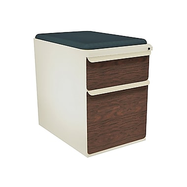 Marvel Zapf 2 Drawer Mobile/Pedestal File, Mahogany,Letter/Legal, 15''W (762805004675)