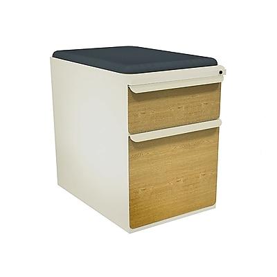 Marvel Zapf 2 Drawer Mobile/Pedestal File, Oak,Letter/Legal, 15''W (762805004682)