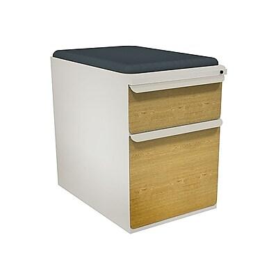 Marvel Zapf 1 Drawer Mobile/Pedestal File, Oak,Letter/Legal, 15''W (762805004712)