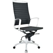 Modway Tempo Ribbed Vinyl High Back Office Chairs
