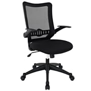 Modway Explorer Fabric Executive Office Chair, Adjustable Arms, Black (848387012922)