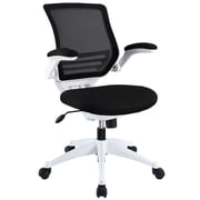 Modway Edge Mesh Computer and Desk Office Chair, Adjustable Arms, Black (848387009663)