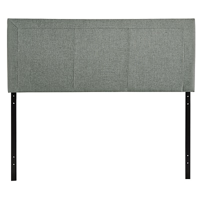 Modway Isabella Contemporary Queen Headboard, Gray, 23 1/2
