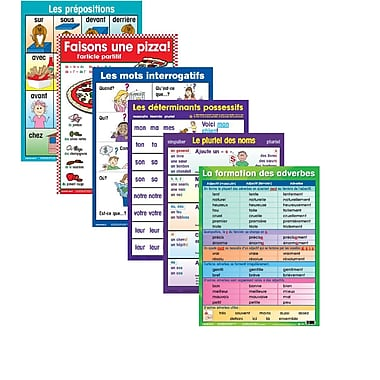 French Grammar Anchor Posters
