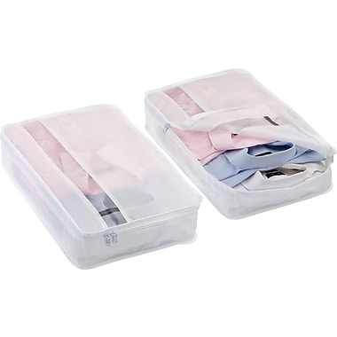 Go Travel Shirt Saver Packing Organizer, White, 2/Pack