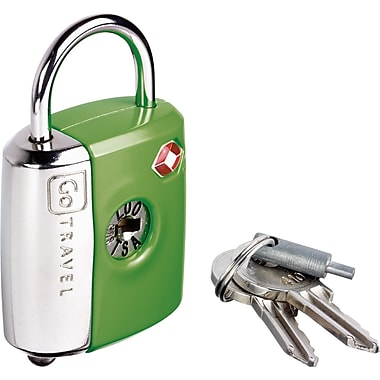 Go Travel Dual Combo/Key TSA® Lock, Green