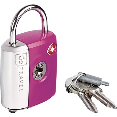 Go Travel Dual Combo/Key TSA® Lock, Purple