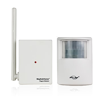 SkyLink® HomeControl SK-10 Wireless Motion Activated Light Starter Kit, White