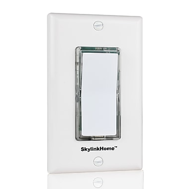 SkyLink® HomeControl TB-318 Wireless Battery-Operated Wall Mount Switch Transmitter, White