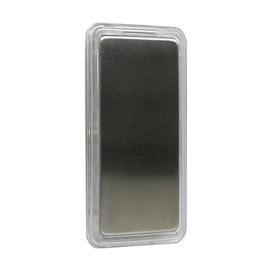 SkyLink® HomeControl TM-001 Decorative Snap-On Switch Cover for WR-001 Wall Switch, Silver