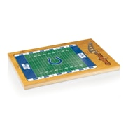 "Picnic Time® NFL Licensed Icon ""Indianapolis Colts"" Digital Print Cutting Board, Natural Wood"