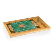 """Picnic Time® NFL Licensed Icon """"Cleveland Browns"""" Digital Print Cutting Board, Natural Wood"""