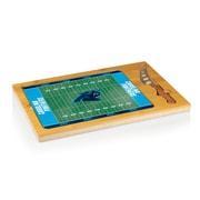 "Picnic Time® NFL Licensed Icon ""Carolina Panthers"" Digital Print Cutting Board, Natural Wood"