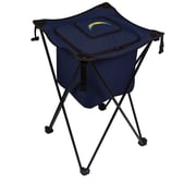 "Picnic Time® NFL Licensed Sidekick ""San Diego Chargers"" Digital Print Polyester Cooler, Navy/Slate"