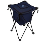 "Picnic Time® NFL Licensed Sidekick ""Dallas Cowboys"" Digital Print Polyester Cooler, Navy/Slate"