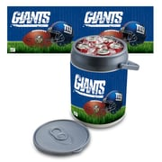 "Picnic Time® NFL Licensed ""New York Giants"" Digital Print Polyethylene Can Cooler, White/Gray"