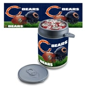 "Picnic Time® NFL Licensed ""Chicago Bears"" Digital Print Polyethylene Can Cooler, White/Gray"