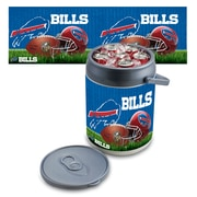 "Picnic Time® NFL Licensed ""Buffalo Bills"" Digital Print Polyethylene Can Cooler, White/Gray"