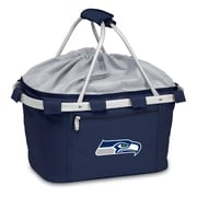 "Picnic Time® NFL Licensed Metro® ""Seattle Seahawks"" Digital Print Polyester Baskets"