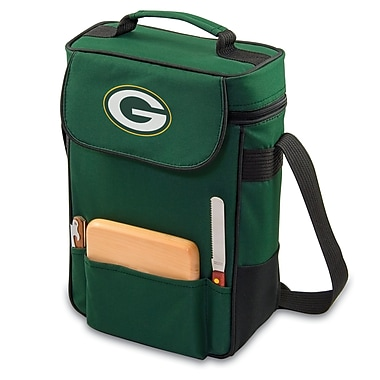 NFL Licensed Duet Wine and Cheese Tote, Assorted Teams