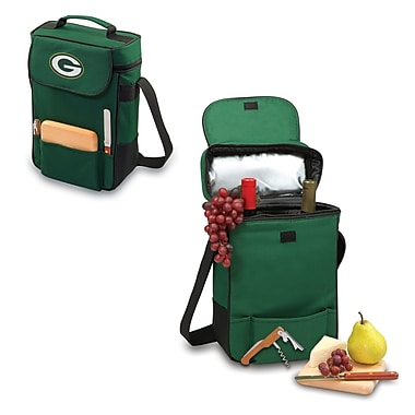 NFL Licensed Duet Wine & Cheese Picnic Totes, Assorted Teams