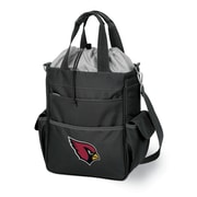 "Picnic Time® NFL Licensed Activo ""Arizona Cardinals"" Digital Print Polyester Cooler Tote, Black"