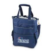 """Picnic Time® NFL Licensed Activo """"New England Patriots"""" Digital Print Polyester Cooler Tote, Navy"""