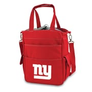 "Picnic Time® NFL Licensed Activo ""New York Giants"" Digital Print Polyester Cooler Tote, Red"