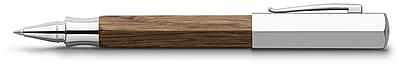 Faber-Castell Ondoro Rollerball Pen, Smoked Oak Wood