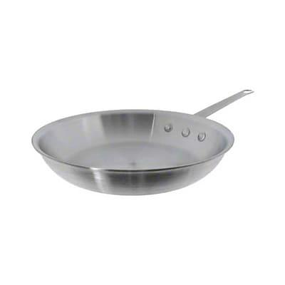 Update International 10 '' Natural Finish Aluminum Fry Pan