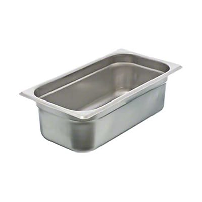 Update International NJP-334, 4'' Third-Size Anti-Jam Steam Table Pan 860744