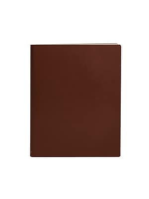 Paperthinks™ Classic Collection Extra Large Ruled Notebook, 17.8 x 22.8 cm, Tan
