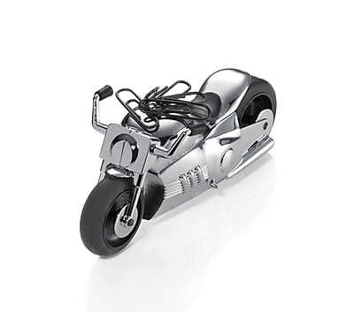 Troika® Easy Rider Chopper-Style Motorcycle Paperweight, Silver