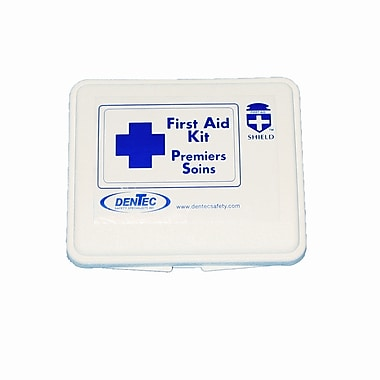 Shield Schedule (16)3,4,5 Transportation First Aid Kit, Ontario, 16 Unit, Plastic Box
