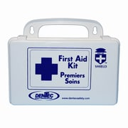 Shield Personal Regulation Bulk First Aid Kit 1 Person, Manitoba, 10 Unit, Plastic Box