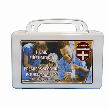 Shield Home First Aid Kit, 10 Unit Poly Economy Box
