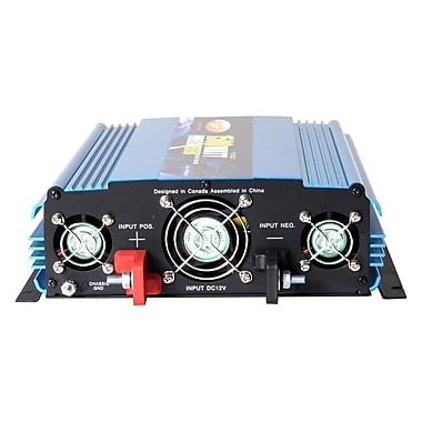 PowerBright - Convertisseur 12 V à onde sinusoïdale modifiée, puissance continue de 2000 W