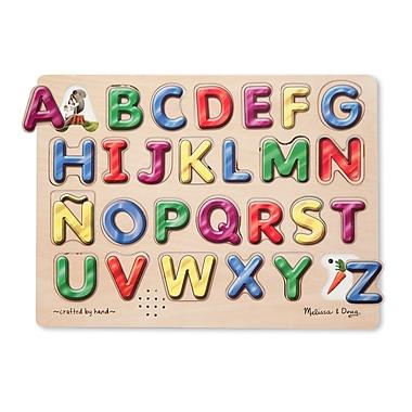 Melissa & Doug® Spanish Alphabet Sound Puzzle, 27 Pieces