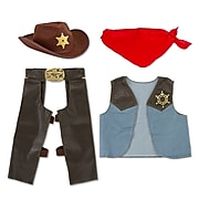 Melissa & Doug® Cowboy Role Play Costume