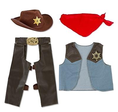 Melissa & Doug® Cowboy Role Play Costume