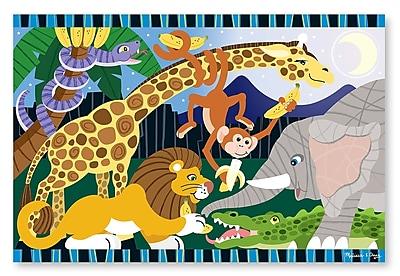 Melissa & Doug® Safari Social Floor Puzzle, 24 Pieces