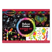 Melissa & Doug® Scratch Art® Deluxe Combo Set