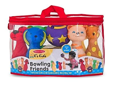Melissa & Doug® Bowling Friends Preschool Play Set