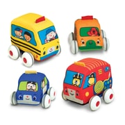 Melissa & Doug® Pull-Back Vehicles Baby and Toddler Toy